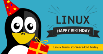 25 Years of Linux!